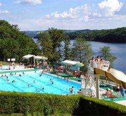Piscine Camping Cantal
